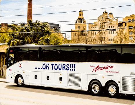 Ok Tours bus